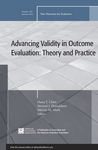 Advancing Validity in Outcome Evaluation : Theory and Practice by Stewart I. Donaldson, Huey-tsyh Chen, and Melvin M. Mark