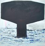Ascending Shape - Black Flag Floater by Ian R. Trout