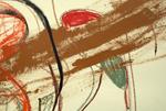 Detail, spoor turn spoil by Jen Grabarczyk