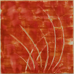 Orange Grass by Suzanne U. Gibbs