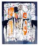 Orange Bars All Day by Gabriel L. Perez