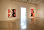 "Making Rich Use of ""Leisure"" Installation West Wall paintings, sculpture on floor by Augusto Sandroni"