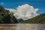 Along the Baram River in Borneo, Malaysia