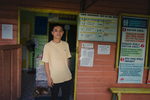 Paramedic Joshua Jalin at the clinic in the Long Naah'a village along the Baram River in Borneo, Malaysia